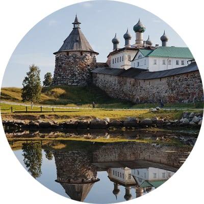 Соловецкий остров в акварели с Анной Михайловой 2-8 августа 2020г