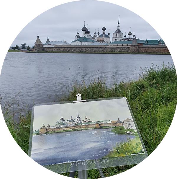Пленэры на Соловках. Без преподавателя 1-7 августа 2021